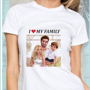 За семейството