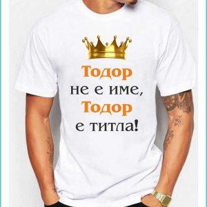 Тениска TDM04